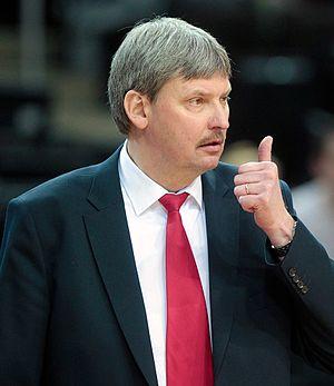 BC Lietuvos rytas - Alfredas Vainauskas, coach of the team 1997–2001.