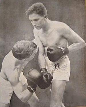 Alfredo Copello - Alfredo Copello during a bout in 1922