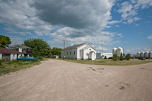 Alice, North Dakota - Buildings in Alice