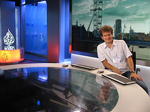 Newshour (Al Jazeera) - Al Jazeera London original Knightsbridge studio