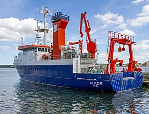 GEOMAR Helmholtz Centre for Ocean Research Kiel - Image: Alkor msu 2017 8805