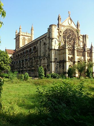 All Saints Cathedral, Allahabad - Image: All Saints' Cathedral