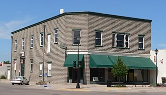 National Register of Historic Places listings in Dawson County, Nebraska - Image: Allen's Opera House from SW 1