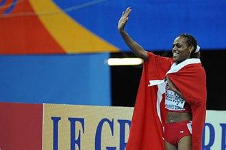 Alemitu Bekele Degfa - Celebrating gold in Turin