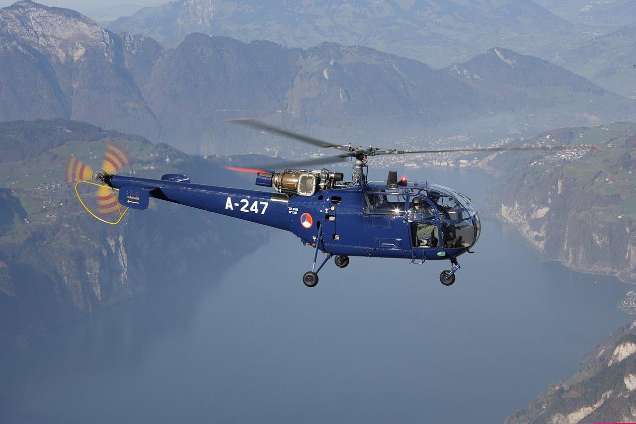 Hélicoptère Alouette III