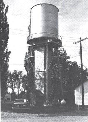 National Register of Historic Places listings in Iron County, Michigan - Image: Alpha Water Tower