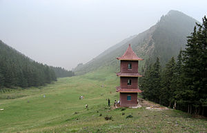 Helan Mountains - The upper parts have woods and meadows.