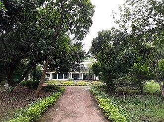 Amartya Sen - 'Pratichi', Sen's house in Shantiniketan