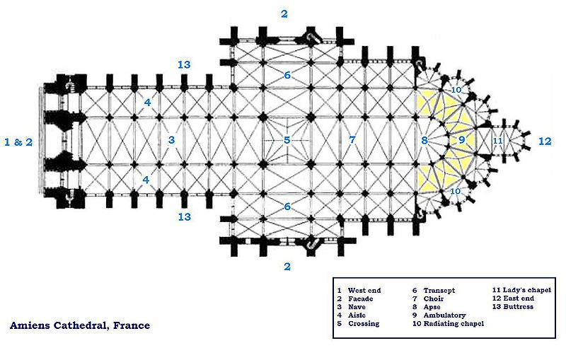 File:Amiens cathedral floorplan.JPG