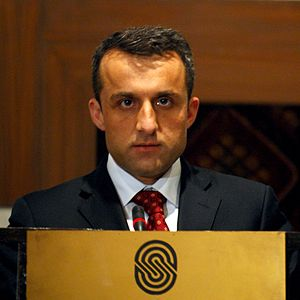 Amrullah Saleh at the CJTF Conference (Counter...