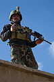 An Afghan National Army Special Forces (ANASF) member with the 6th Special Operations Kandak practices clearing a room during a training exercise in Kabul, Kabul province, Afghanistan, Nov. 26, 2013 131126-A-HT102-260.jpg