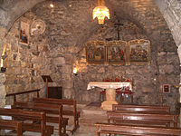 The house of St. Ananias in Damascus
