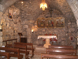 Paul the Apostle - The house believed to be of Ananias of Damascus in Damascus