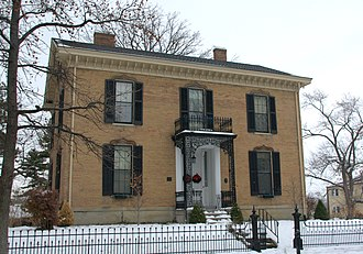 National Register of Historic Places listings in Butler County, Ohio - Image: Anderson Shaffer House