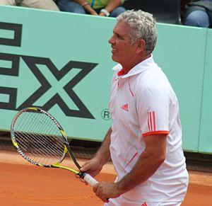 Andrés Gómez - Image: Andrés Gómez Roland Garros 2012