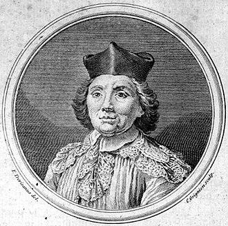 Andrea Adami da Bolsena - etching of Adami