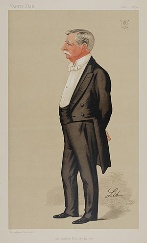 Andrew Barclay Walker - Vanity Fair caricature by Libero Prosperi