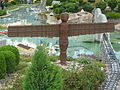 Angel of the North in Miniland, Legoland Windsor.JPG