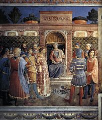 Condemnation of St Lawrence by the Emperor Valerian