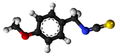 Anisyl isothiocyanate3D.png