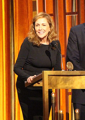Ann Druyan - Ann Druyan, executive producer and writer of COSMOS: A SpaceTime Odyssey, accepts the Peabody with Neil deGrasse Tyson, Mitchell Cannold and Brannon Braga.