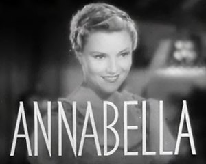 Annabella (actress) - in Bridal Suite (1939)