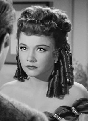 All About Eve - Anne Baxter in wig and costume as Eve Harrington, Margo Channing's understudy