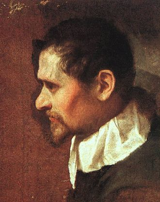 Annibale Carracci - Self-portrait (Uffizi)