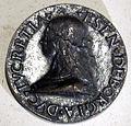 Anonimo, medaglia di lucrezia borgia, post 1502-1505.JPG