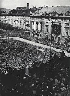 <i>Anschluss</i> Annexation of Austria into Nazi Germany