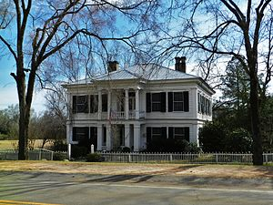 National Register of Historic Places listings in Hancock County, Georgia - Image: Antebellum house, Linton, Georgia
