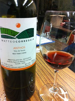 Brachetto - A vino da tavola wine made in Piedmont predominately from Brachetto.