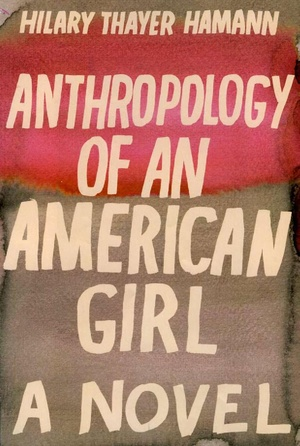 Anthropology of an American Girl cover