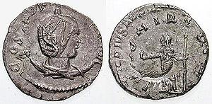 Regalianus - Image: Antoninianus Dryantilla RIC 0002