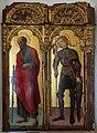 Antonio, bartolomeo vivarini e bottega, ss. paolo e giorgio, 1462, 01.jpg