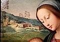 Antonio del ceraiolo, madonna col bambino e san giovannino, 1520 ca. 02 paesaggio.jpg