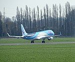 Antwerp JetAirFly ERJ Embraer 190STD OO-JEB 2018 04.jpg