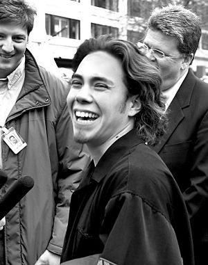 Apolo Ohno - Ohno in Seattle, Washington, shortly after the 2002 Winter Olympics.