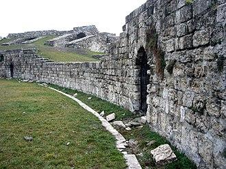 Aquincum Military Amphitheatre - Image: Aquincum Amphitheatre 01