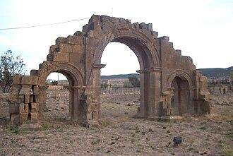 Lambaesis - Arch of Septimius Severus