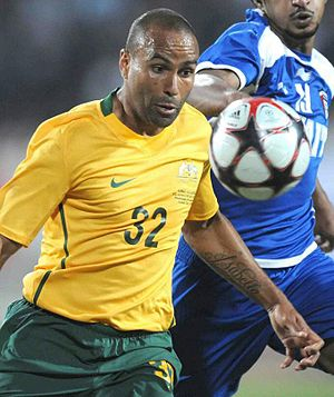 History of Melbourne Victory FC - Image: Archie Thompson (Australia – Socceroos)