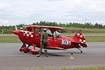 Arctic Eagles Christen Eagle II (OH-XEA) Turku Airshow 2015 06.JPG