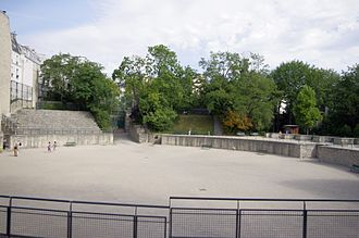 Lutetia - The Arènes de Lutèce in the 5th arrondissement of Paris