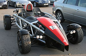 Goodwood car park - Ariel Atom