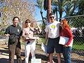Arizona Greens ballot status signature collectors 20080209.jpg
