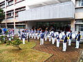 Army Academy Marching Band Drums Team Exercise 20130302d.JPG