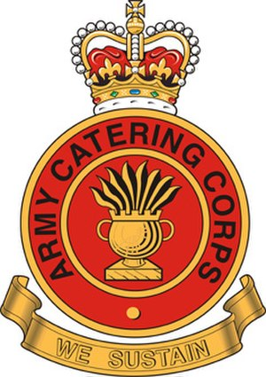 Army Catering Corps - Badge of the Army Catering Corps