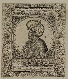 Ottoman Empire statesman