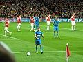 Arsenal vs Marseille - Valbuena corner.jpg
