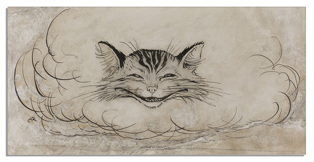 Arthur Rackham Cheshire Cat